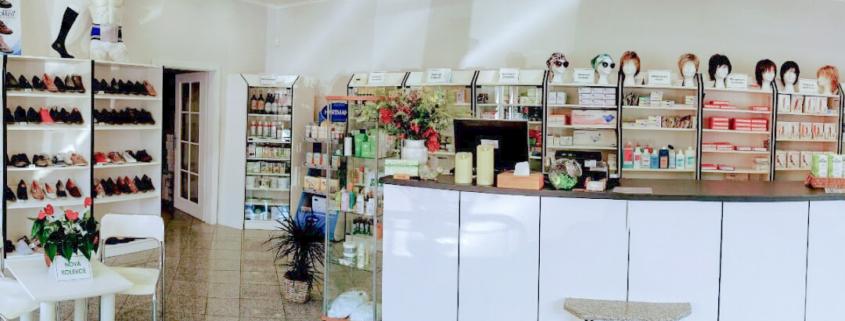 Interier - prodejna zdravotnických potřeb