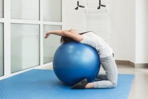 rehabilitace nafukovací míč