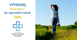 50% slevy - výprodej letní obuvi do vyprodání zásob!!!